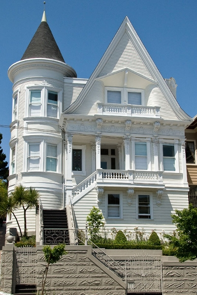 Vacation rental san francisco short term rental san francisco Modern victorian architecture
